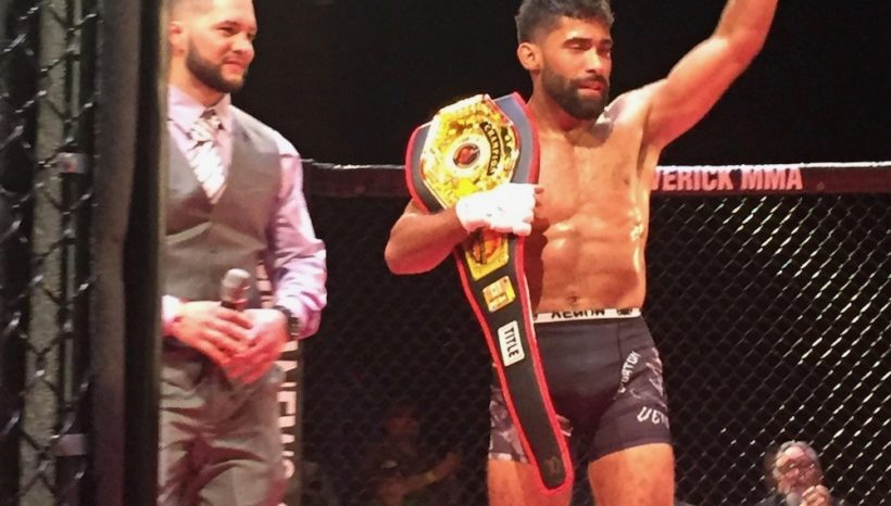 Nestor Negroni Wins The Maverick MMA Featherweight Title