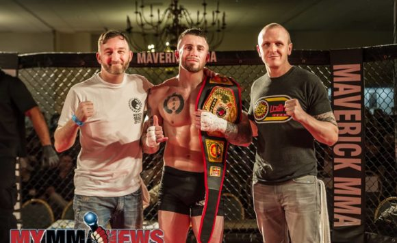 Ryan Rizco Is The New  Maverick MMA 160 Lbs Champion