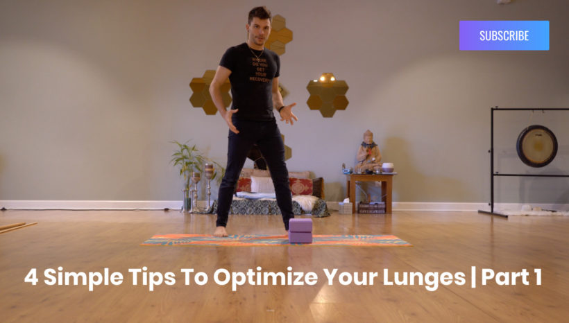 4 Simple Tips to Optimize Your Lunges