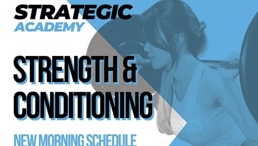 New Morning Strength & Conditioning Schedule